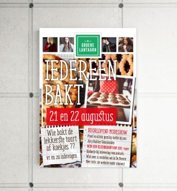 De Groene Lantaarn Mode - poster