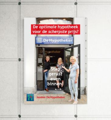 De Hypotheker - poster
