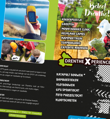 Drenthe Xperience - flyer