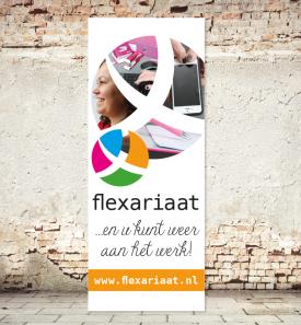 Flexariaat - rolbanner