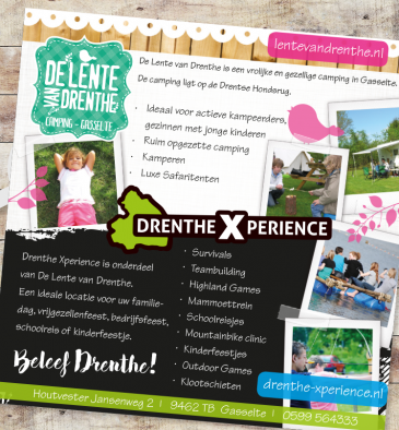 De Lente van Drenthe - advertentie